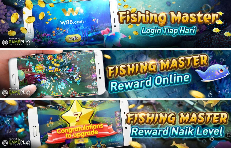 Login ke Permainan Tembak Ikan Memakan Koin W88